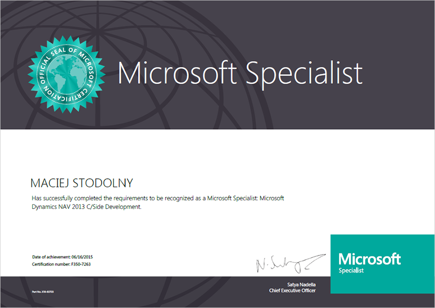 Getsix Group Broadens Their Competences Microsoft Certifications