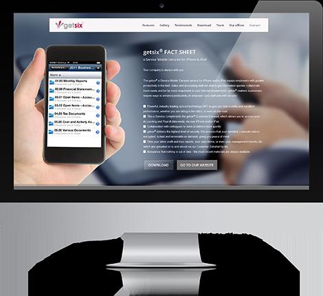 getsix-mobile-extranet-website