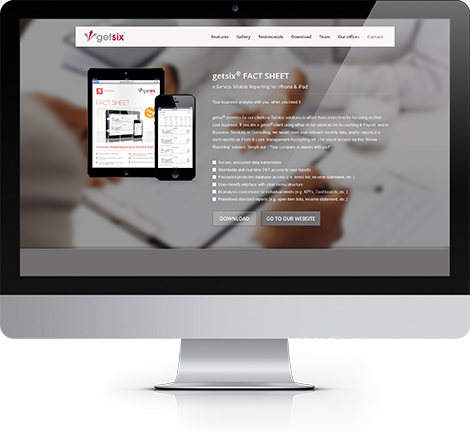 getsix-mobile-reporting-website