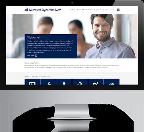 microsoft-dynamics-nav-website